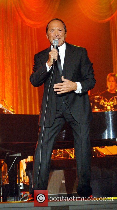 Paul Anka performing at the Chumash Resort