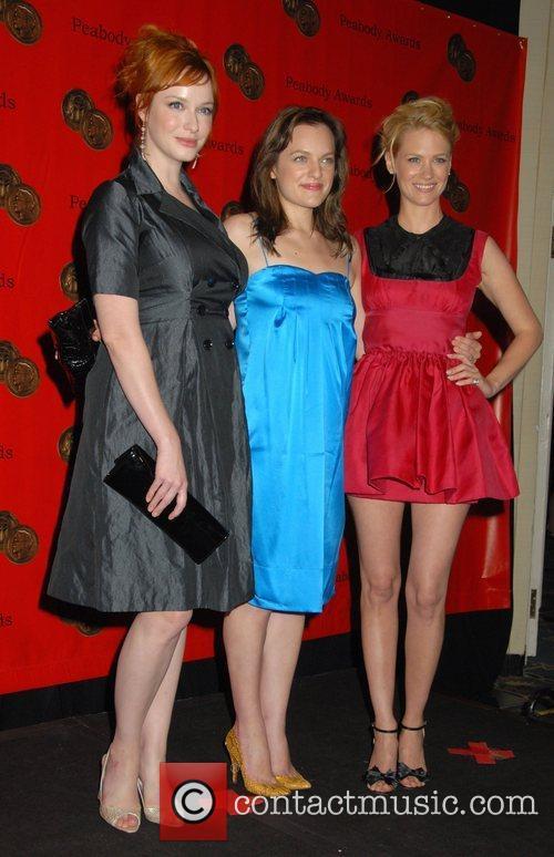 Christina Hendricks, Elisabeth Moss and January Jones 67th...