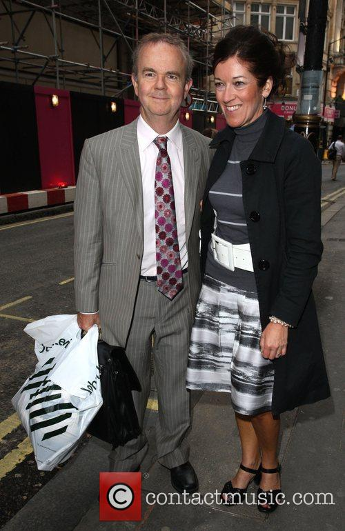 Ian Hislop Penny Smith hosts a book party...