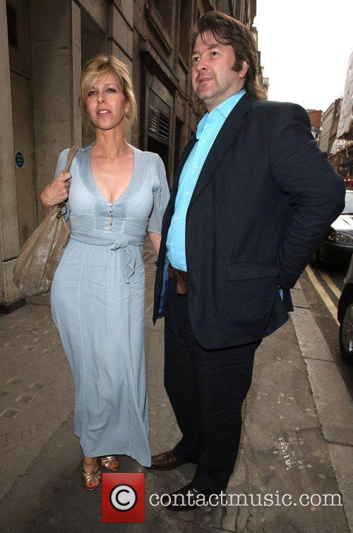 Kate Garraway with her husband Penny Smith hosts...