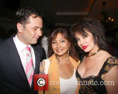 Cheryl Howard (r) and Guests Penny Smith hosts...