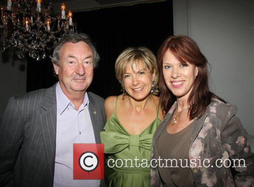 Penny Smith, Nick Mason and Annette Mason Penny...