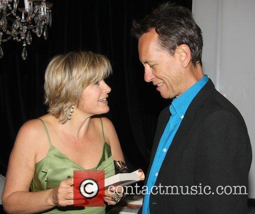 Penny Smith and Richard E Grant Penny Smith...