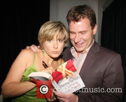 Penny Smith and Richard Arnold Penny Smith hosts...