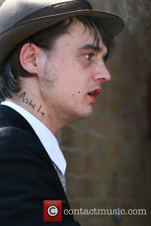 Pete Doherty arriving at Yeovil Magistrates Court in...