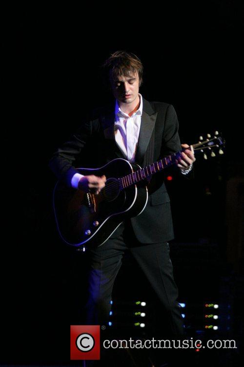 Pete Doherty performing live in concert at the...