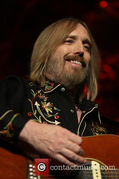 Tom Petty and the Heartbreakers performing live at...