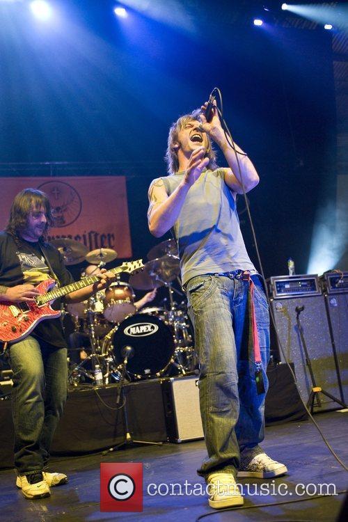 Pete Eldridge performing live at the International Music...