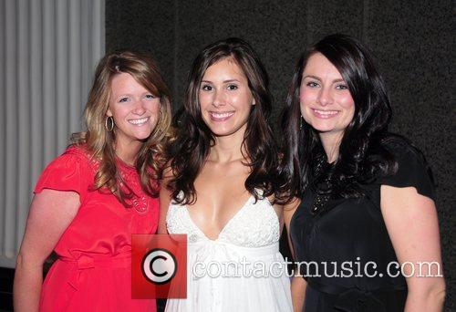 Holly Dean, Ashley Schaeffer and Jaclyn Disher attend...