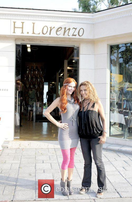 Phoebe Price with Sharona Hadar celebrating the success...