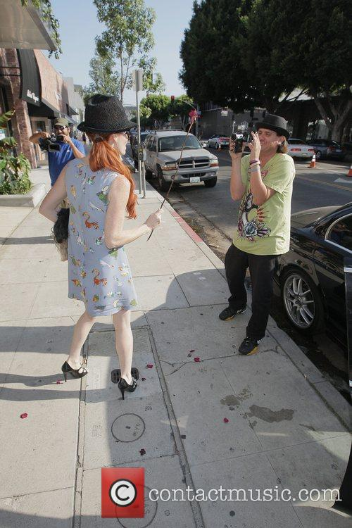Phoebe Price has lunch with her mother on...