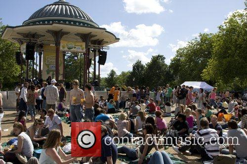 Picnic Rocks 2008 at Clapham Common Bandstand