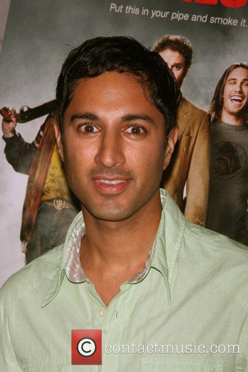 Maulik Pancholy Three Olives Vodka & Columbia Pictures...