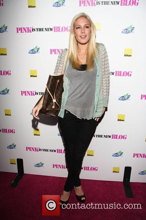Heidi Montag Celebration of the Re-launch of Trent...
