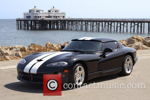 Pamela Anderson's 2000 Dodge Viper RT/10 roadster with...