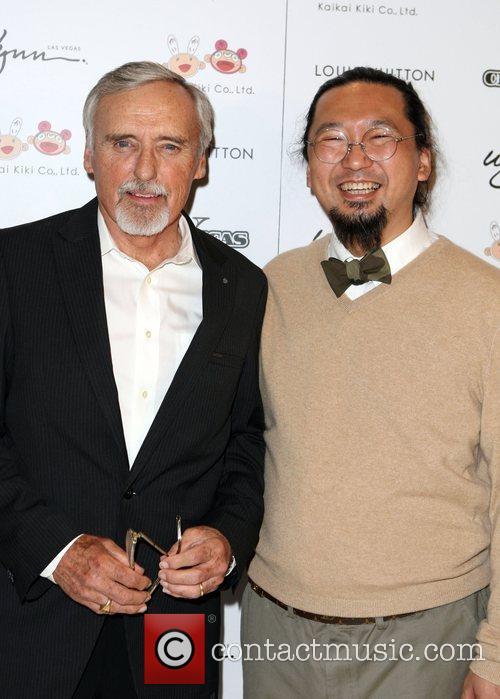 Dennis Hopper and Takashi Murakami 1