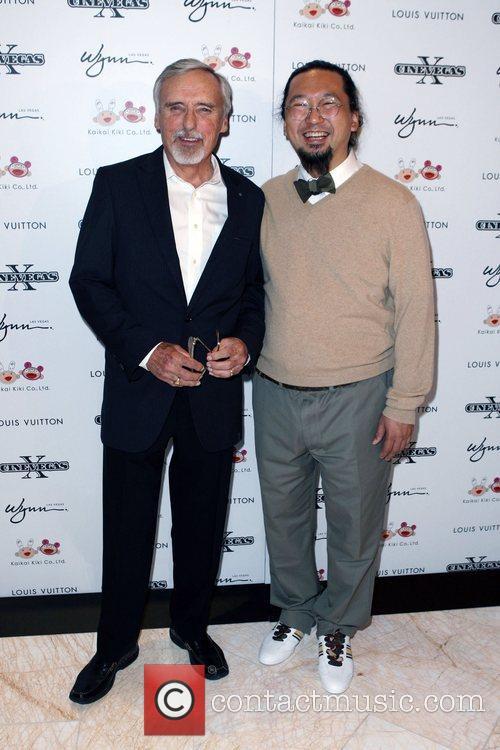 Dennis Hopper and Takashi Murakami 2