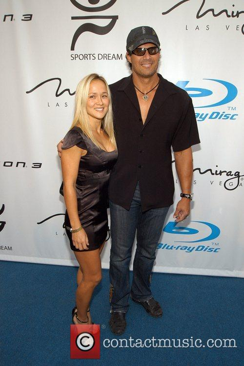 Jose Canseco and Guest Playboy and Blu-ray Pre-ESPY...