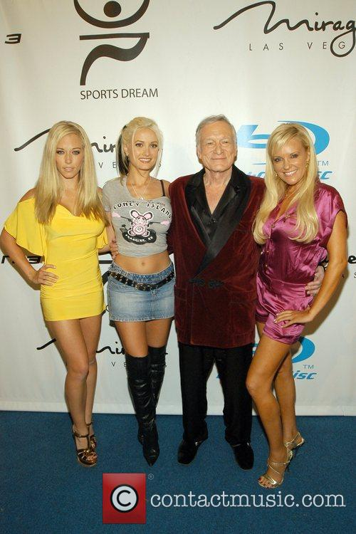 Kendra Wilkinson, Holly Madison, Hugh Hefner and Playboy 2