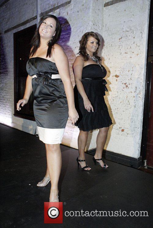 Plus-size model finalists The City Chic fashion label...