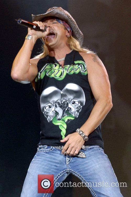 Brett Michaels of Poison  performing live at...