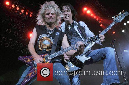 CC Deville and Bassist Bobby Dall of Poison...