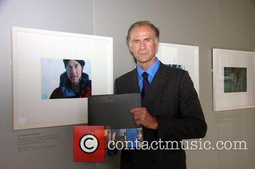 Sir Ranulph Fiennes 'Portraits of Adventure' photo exhibition...