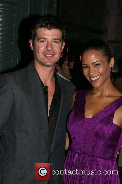 Robin Thicke and Paula Patton 1