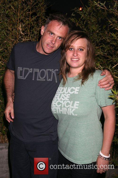 David Eigenberg and Carly Miller 7