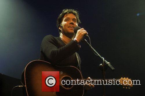 Performing at Primavera Sound 2008 Music Festival.