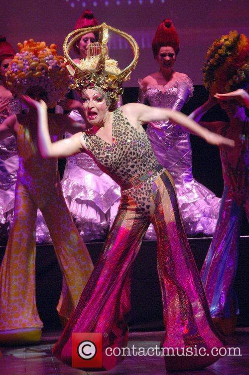 Cast members Launch of 'Priscilla Queen of the...