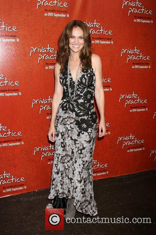 Amy Brenneman arriving at the Private Practice Season...