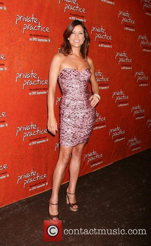Kate Walsh arriving at the Private Practice Season...