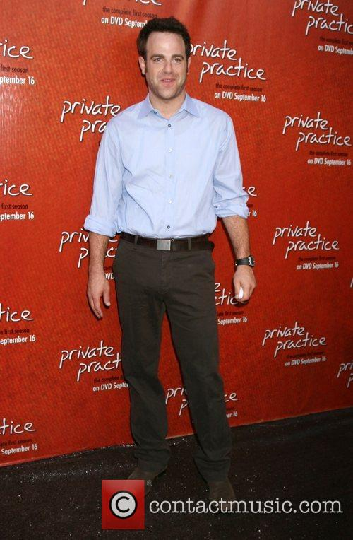 Paul Adelstein arriving at the Private Practice Season...
