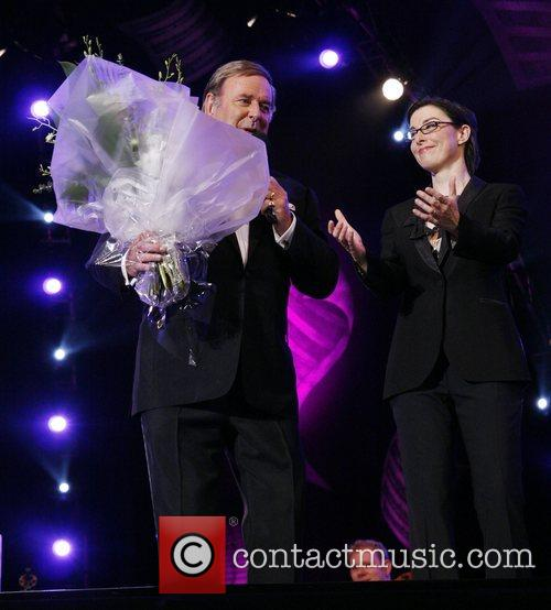 Terry Wogan and Sue Perkins BBC Proms in...