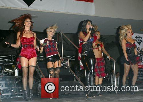 Pussycat Dolls, Nicole Scherzinger, Hollywood And Highland