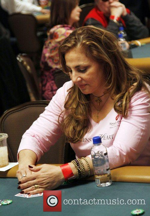 Kathy Najimy The Queen of Hearts Team participates...
