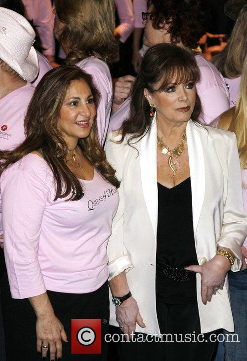 Kathy Najimy and Jackie Collins The Queen of...