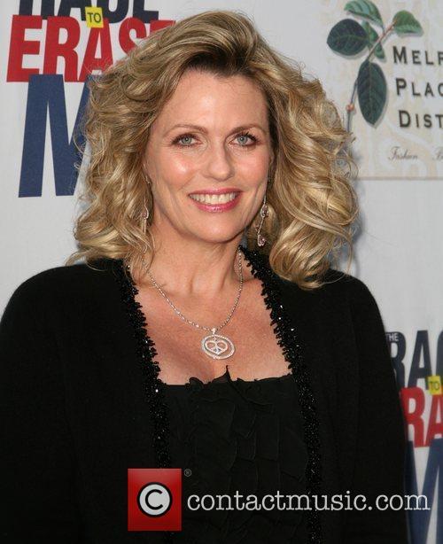 Nancy Davis, attends The Nancy Davis Foundation's Race...