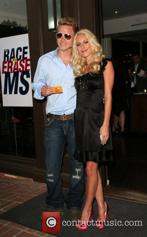 Spencer Pratt and Heidi Montag, attends The Nancy...