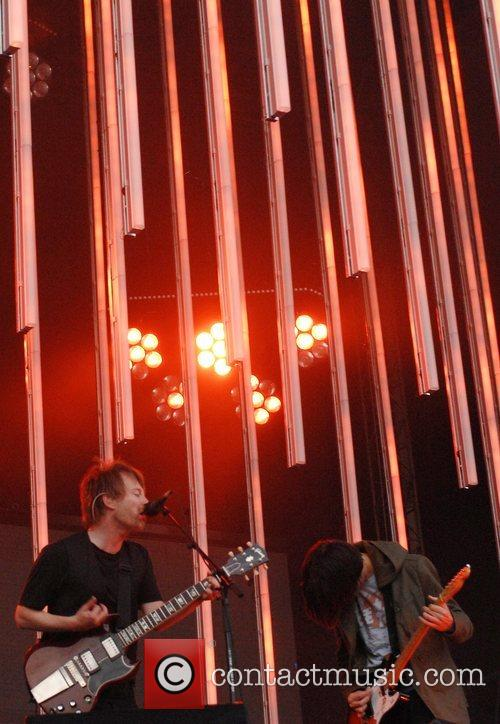 Radiohead  performs live in concert at Victoria...