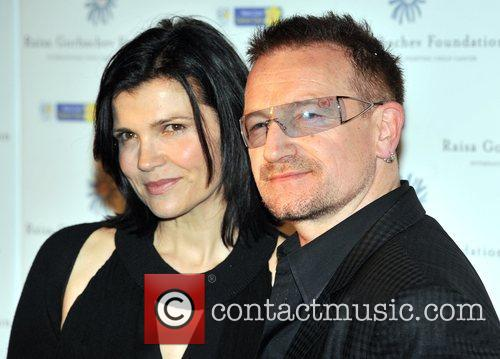 Bono and Hampton Court Palace 6