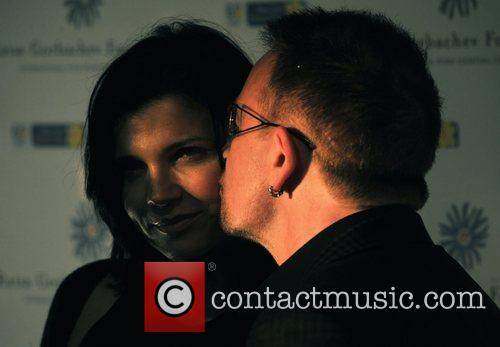 Bono and Hampton Court Palace 3