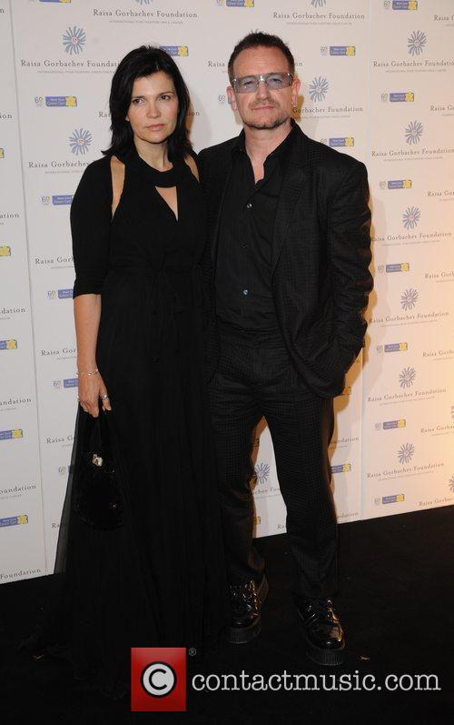 Bono, His Wife Ali Hewson and Hampton Court Palace 10