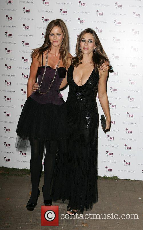 Elizabeth Hurley and Tana Ramsay 2