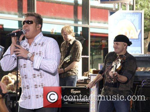 Rascal Flatts perform live on 'The Today Show...