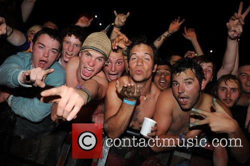 Atmosphere at the Reading Festival 2008, Reading Berkshire....