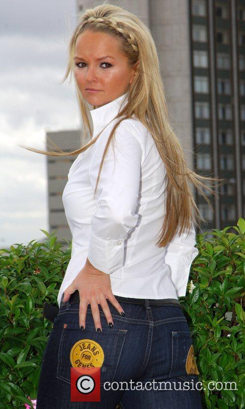 Jennifer Ellison wins the Rear of the Year...