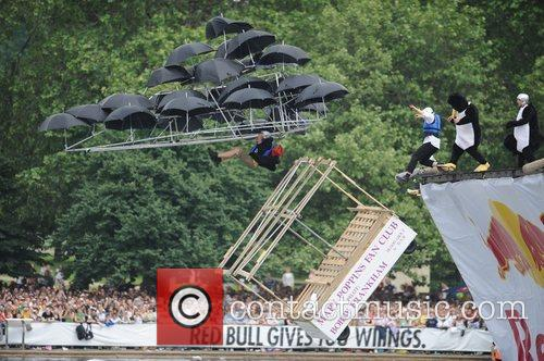 Mary Poppins and Red Bull Flugtag 2