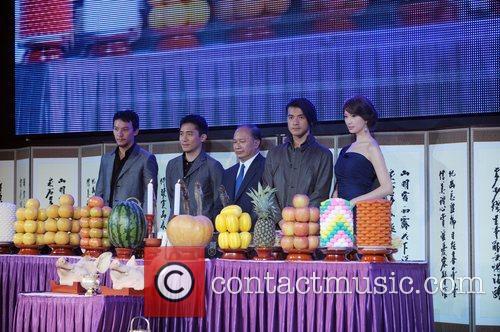 Chang Chen, Tony Leung, John Woo, Kaneshiro Takeshi and Lin Chi-ling 2